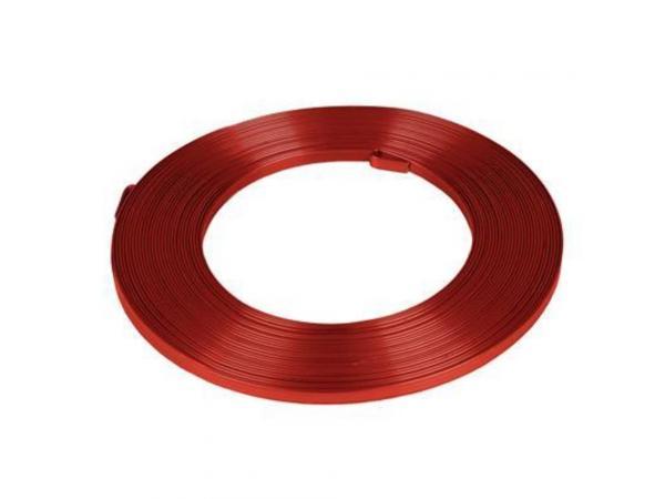 8mm Glasschliffperlen 72St #9150 red